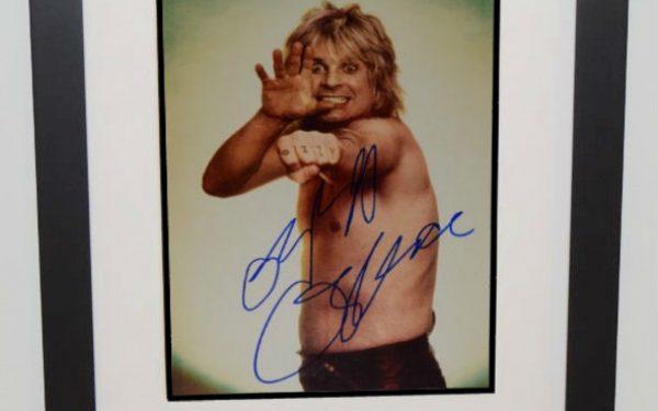 #1-Ozzy Osbourne Signed 8×10 Photograph
