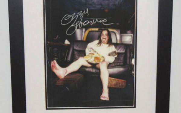 #5-Ozzy Osbourne Signed 8×10 Photograph
