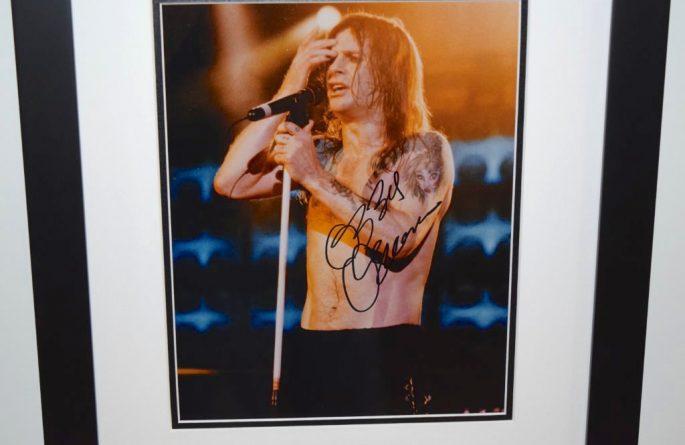 #4-Ozzy Osbourne Signed 8×10 Photograph