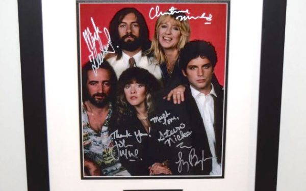 #2-Fleetwood Mac Signed 8×10 Photograph
