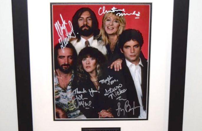 #2-Fleetwood Mac Signed 8×10 Photograph