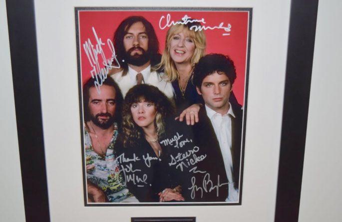 #2-Fleetwood Mac Signed Photograph