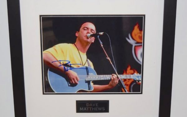 #3-Dave Matthews Signed Photograph
