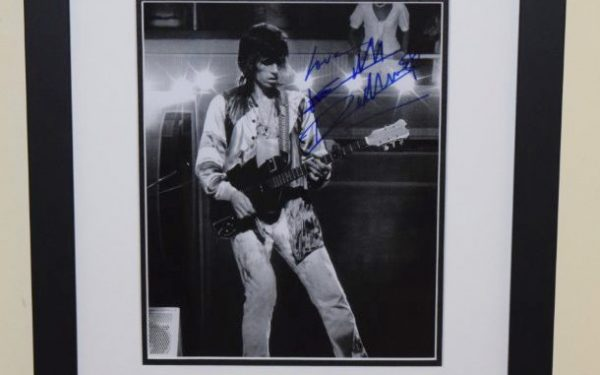 #6-Keith Richards Signed 8×10 Photograph