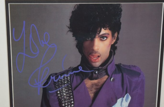 #1-Prince Signed 8×10 Photograph