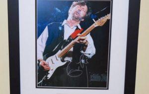 #2-Eric Clapton Signed 8×10 Photograph