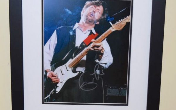 #2-Eric Clapton Signed 8×10 Photograph
