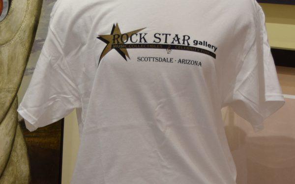 ROCK STAR gallery T-shirts