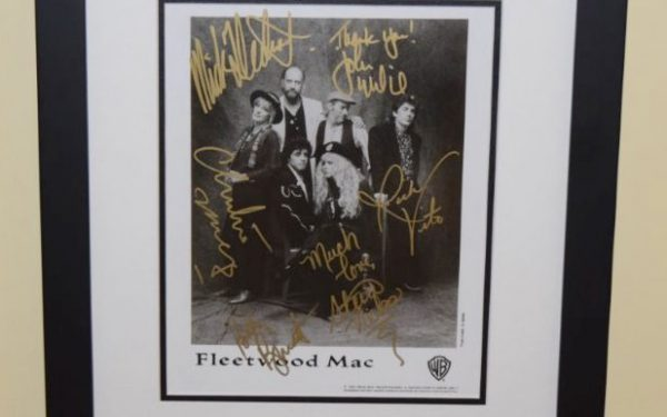 #1-Fleetwood Mac Signed 8×10 Photograph