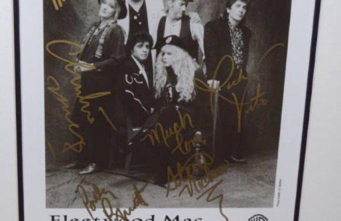 #1-Fleetwood Mac Signed 8×10 Photograph