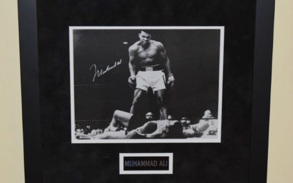 #1-Muhammad Ali Signed 8×10 Photograph