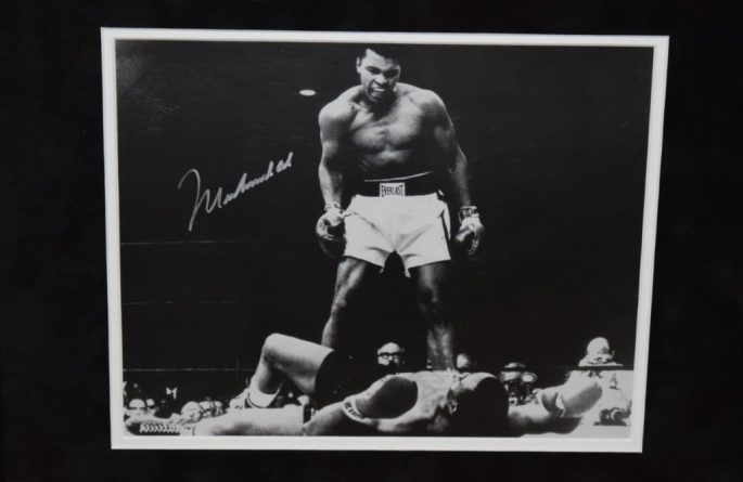 #1-Muhammad Ali Signed 8×10 Photograph