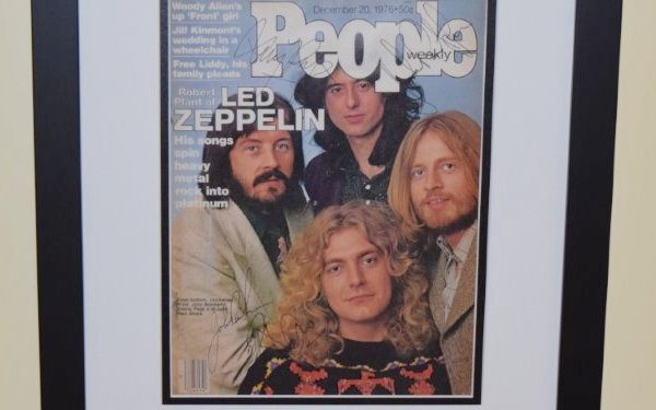 #1-Led Zeppelin Signed People Magazine
