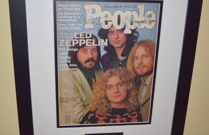 #1-Led Zeppelin Signed People Magazine