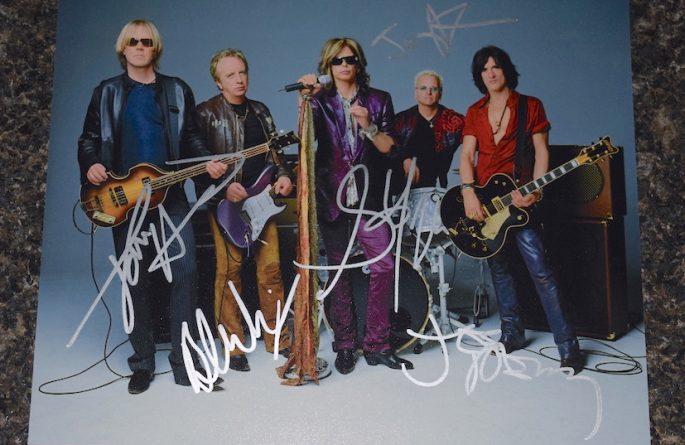 #3-Aerosmith Signed 8×10 Photograph