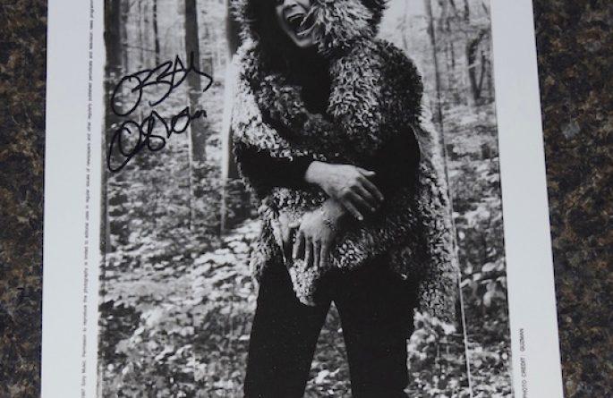#2-Ozzy Osbourne Signed 8×10 Photograph