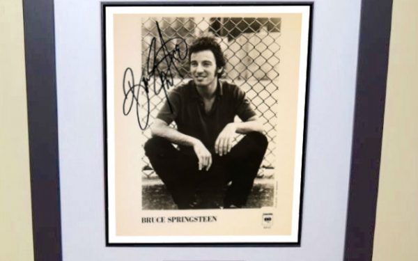 #2 Bruce Springsteen Signed 8×10 Photograph
