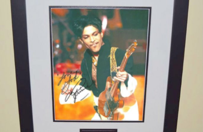 #2-Prince Signed 8×10 Photograph