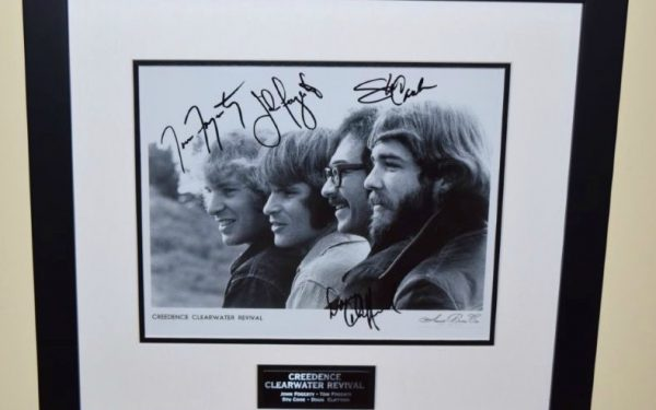 #1-Creedence Clearwater Revival Signed Photograph