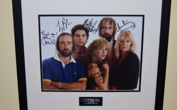 #5-Fleetwood Mac Signed Photograph
