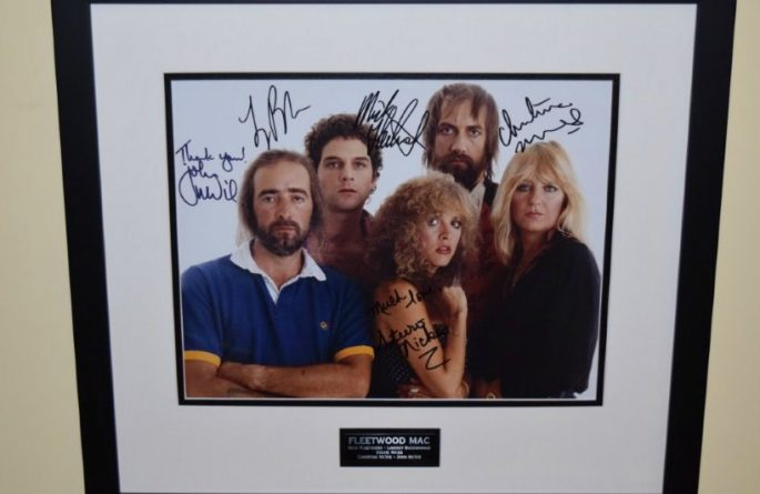 #5-Fleetwood Mac Signed 11×14 Photograph