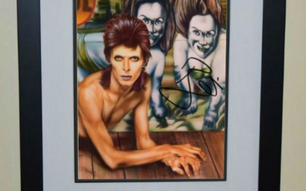 #3-David Bowie Signed 8×10 Photograph