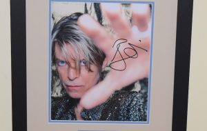 #2-David Bowie Signed Photograph