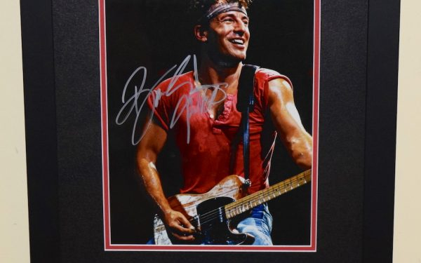 #4-Bruce Springsteen Signed 8×10 Photograph