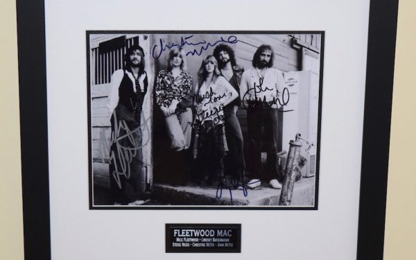#3-Fleetwood Mac Signed 8×10 Photograph