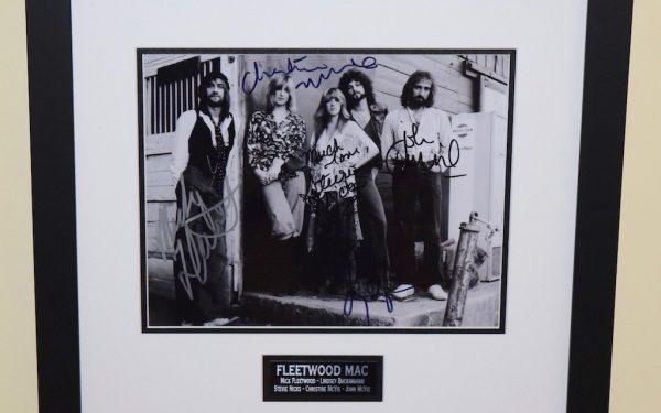 #3-Fleetwood Mac Signed 8×10 Photograph