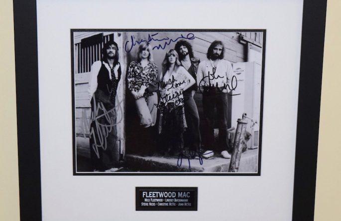 #3-Fleetwood Mac Signed Photograph
