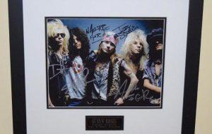 #1-Guns N' Roses Signed Photograph