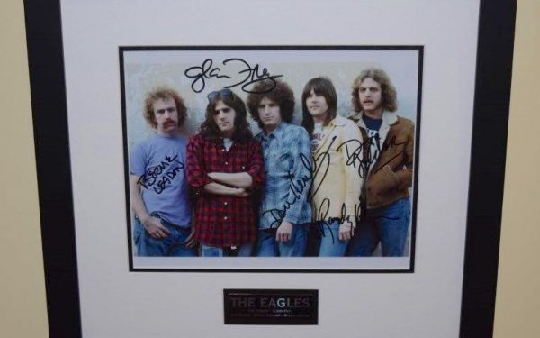 #1-Eagles Signed 8×10 Photograph