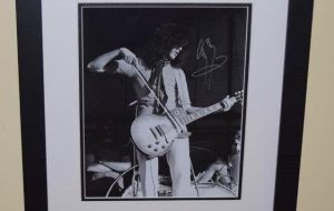 #1-Jimmy Page Signed Photograph