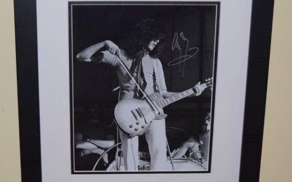 #1-Jimmy Page Signed 8×10 Photograph