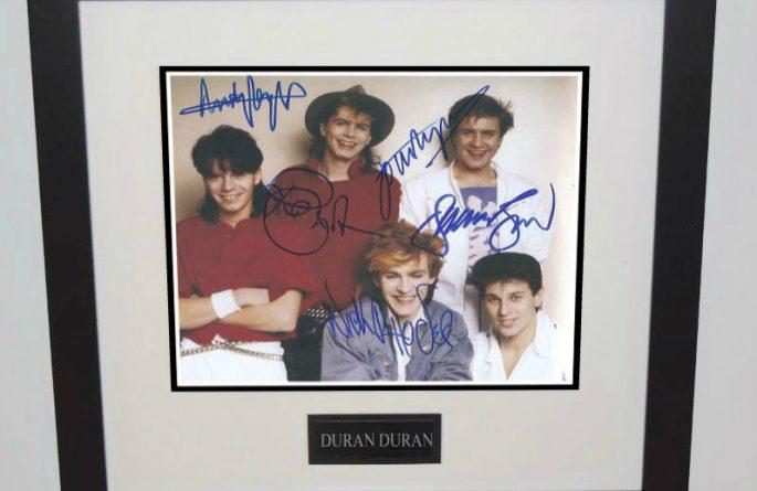 #2-Duran Duran Signed 8×10 Photograph