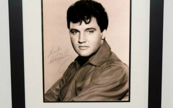 #1-Elvis Presley Signed 8×10 Photograph