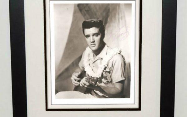 #3-Elvis Presley Signed 8×10 Photograph