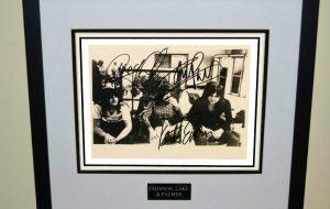 Emerson, Lake & Palmer Signed Photograph