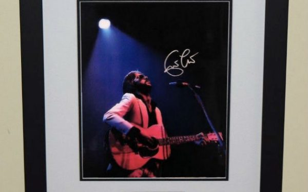 #3-Eric Clapton Signed 8×10 Photograph