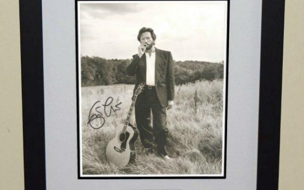 #9-Eric Clapton Signed 8×10 Photograph