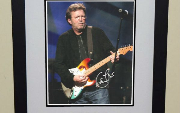 #10-Eric Clapton Signed Photograph