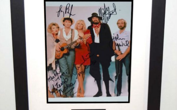 #6-Fleetwood Mac Signed 8×10 Photograph