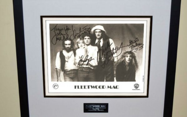 #4-Fleetwood Mac Signed 8×10 Photograph