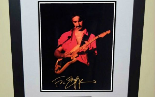 #2-Frank Zappa Signed 8×10 Photograph