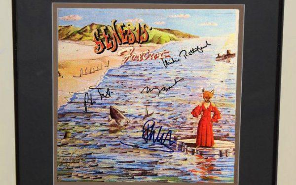Genesis – Foxtrot Signed