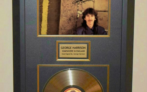 George Harrison – Somewhere In England