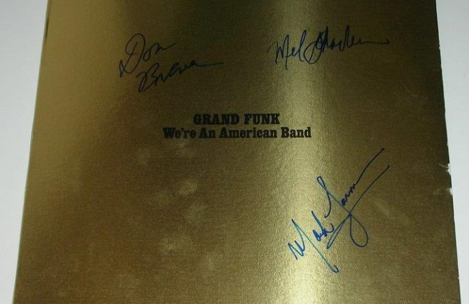 Grand Funk Railroad – We're An American Band