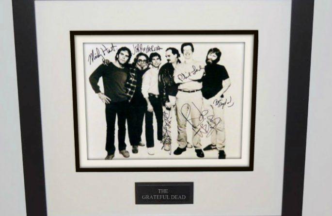#1-Grateful Dead Signed 8×10 Photograph