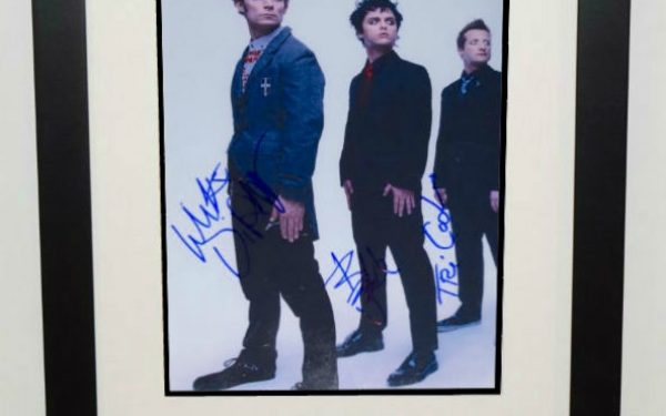 #2-Green Day Signed Photograph